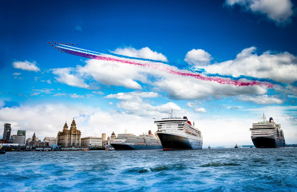 3 Queens come to Liverpool - Cunard