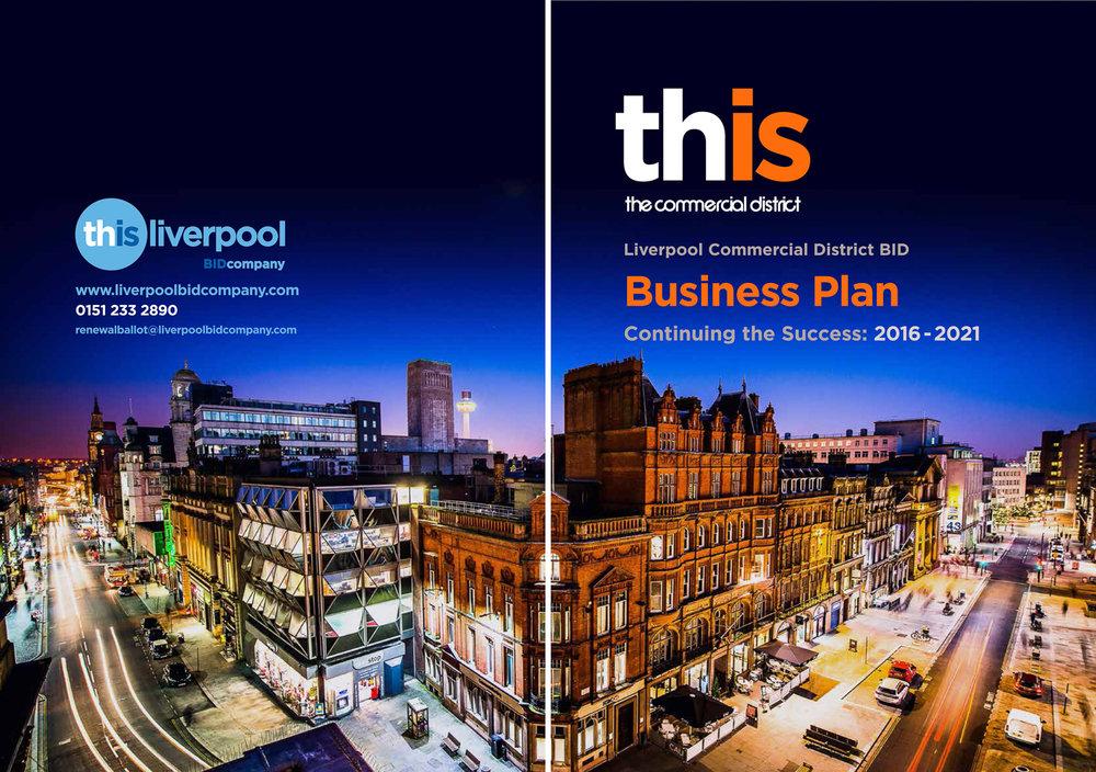 Liverpool BID company city skyline photography