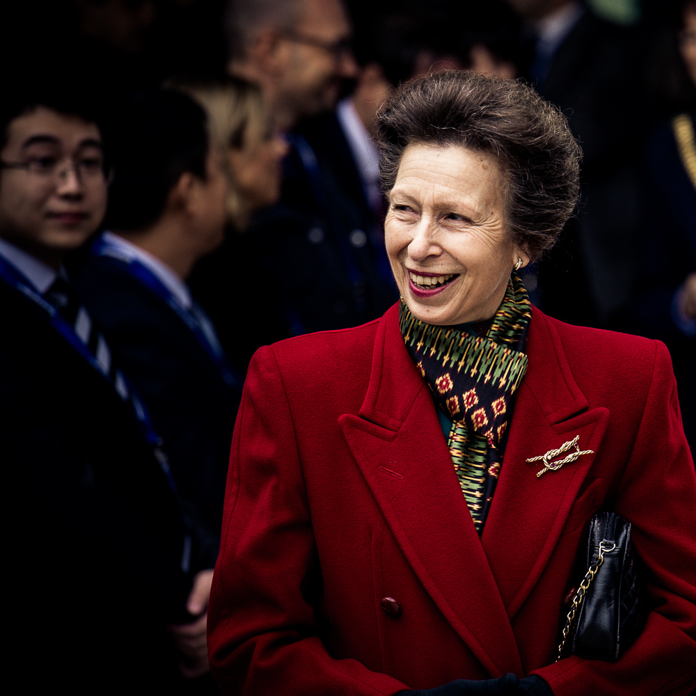 Princess Anne visits Liverpool
