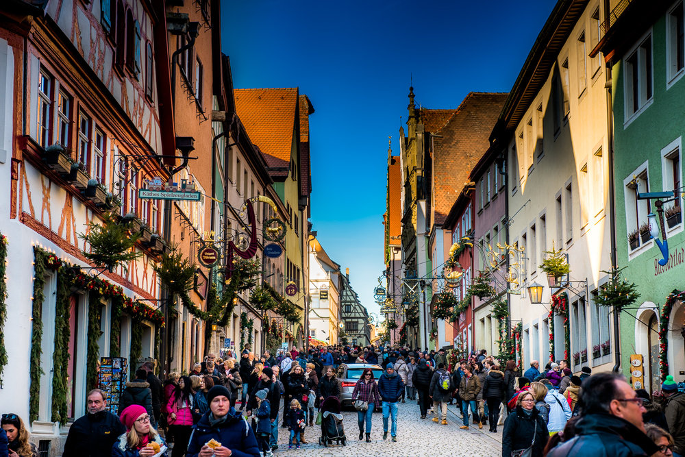photo of rothenburg, near nuremberg, Germany for the christmas markets