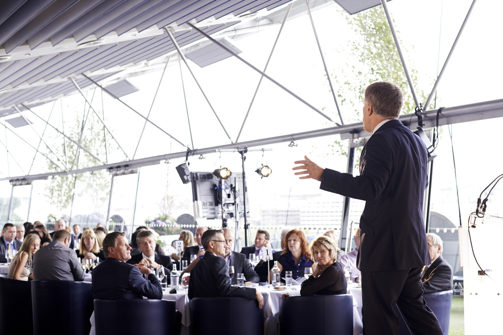 PRESENTATION AT THE OXO TOWER, LONDON