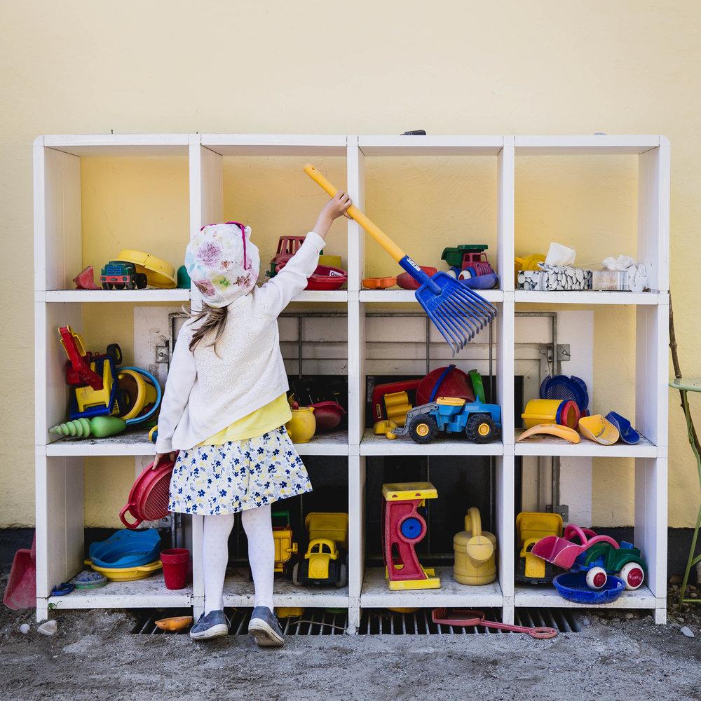 Dokumentarische Kindergartenfotografie Krippenfotografie München