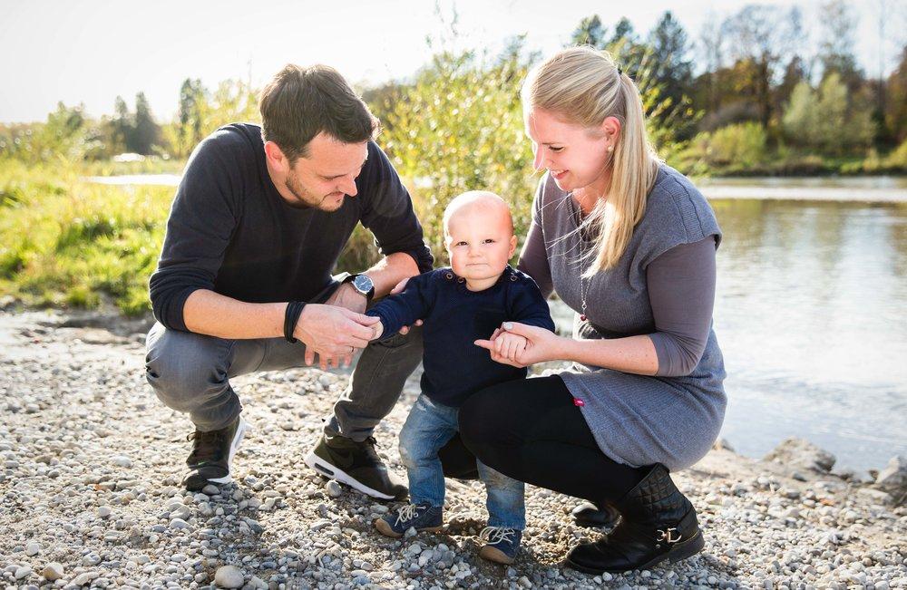 Familienfotoshooting Outdoor München