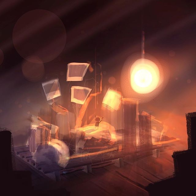 From Adam's art archive. Concept art for WonderWorlds. Being able to visualise the game like this from the start of a project helps all members of a development team pull in the same direction, and on this occasion try to raise the bar for mobile game making.