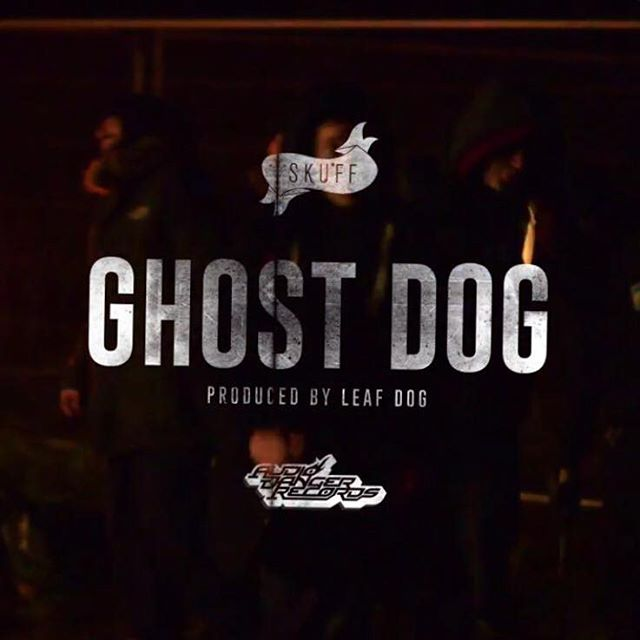 The first video from @therealskuff LEVEL LP  Ghost Dog - Produced by @therealleafdog is here  Check out @wordplaymag to find it on their website  #Skuff #LeafDog #AudioDanger The LP is released 05/11/2015