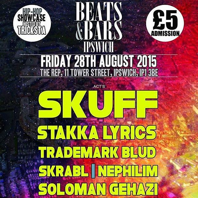 Catch our boy @therealskuff in Ipswich