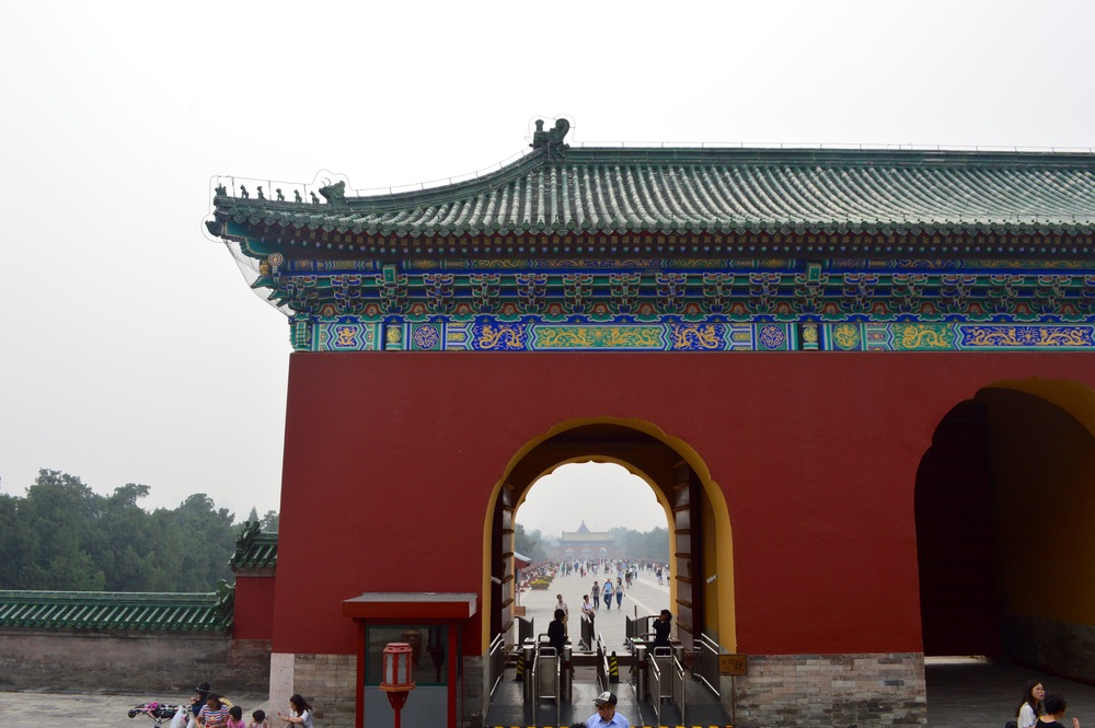 Temple of Heaven, Beijing.