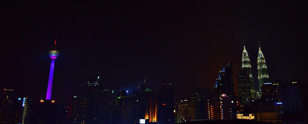 Kuala Lumpur skyline representing some LGBTQ equality.