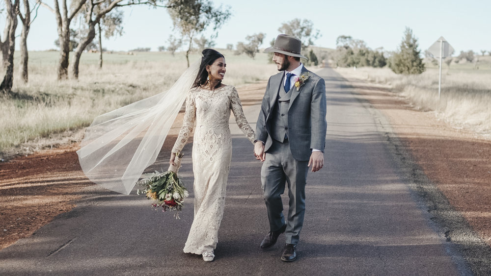 Dilshani & Alex - Dirnaseer Memorial Hall, Temora NSW