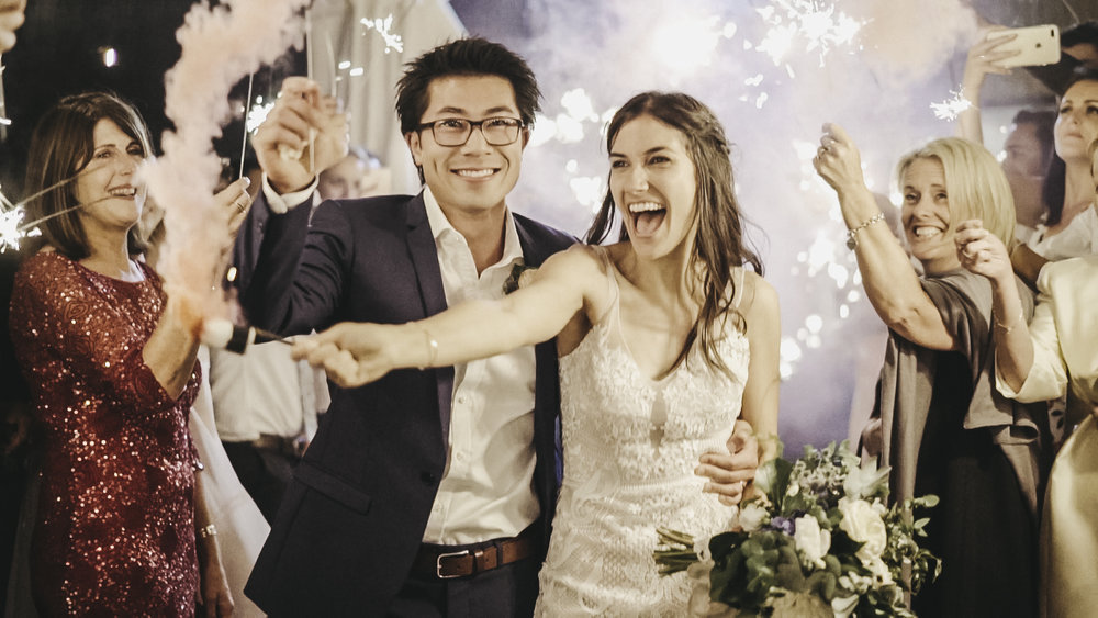 Wedding films that make you smile - (not put you to sleep)
