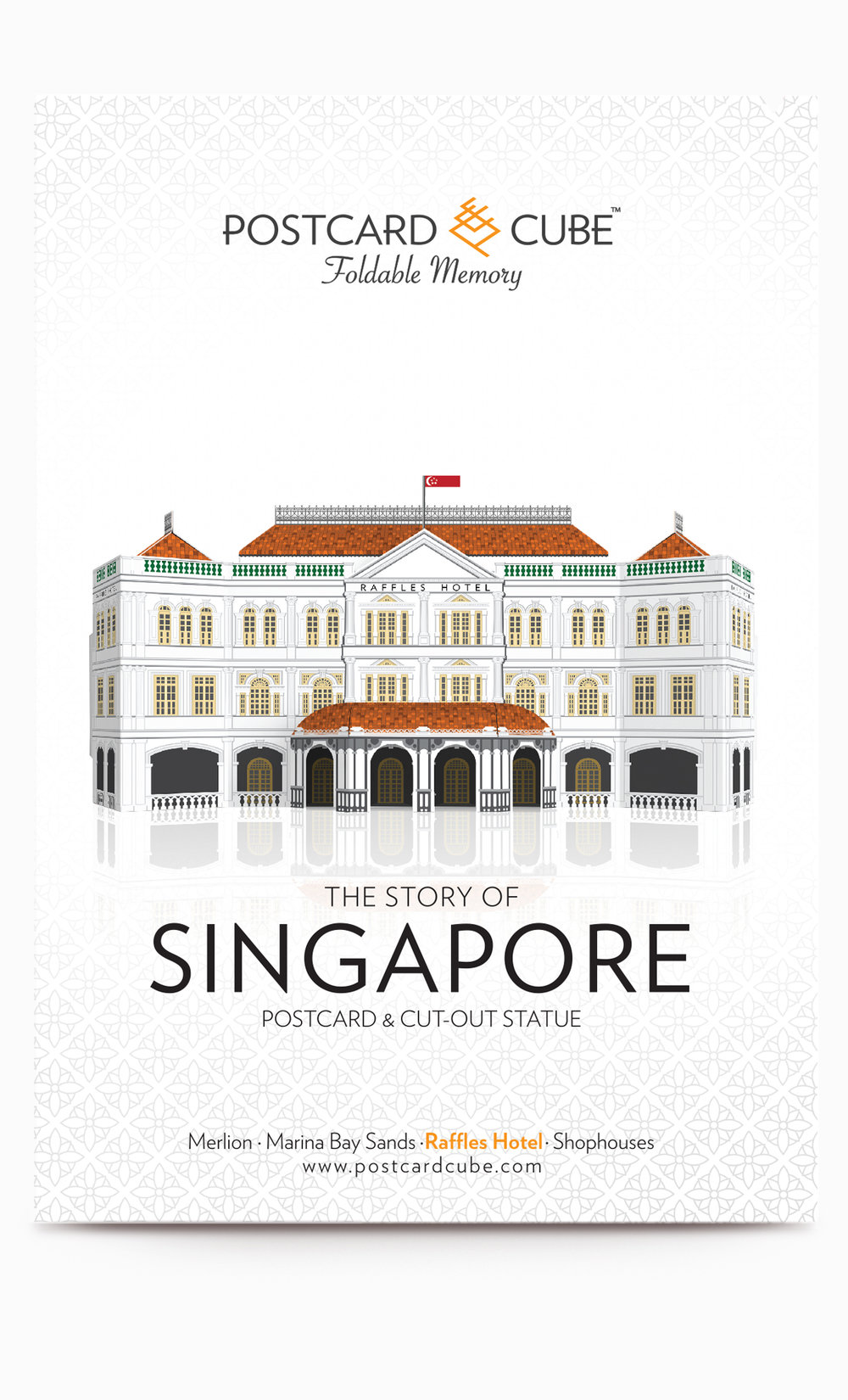 Postcardcube_Singapore_Raffles Hotel