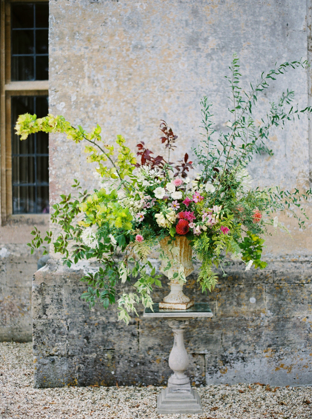 Sarah WInward urn by  Erich McVey