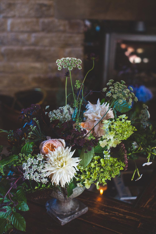 flowers in the wheelhouse
