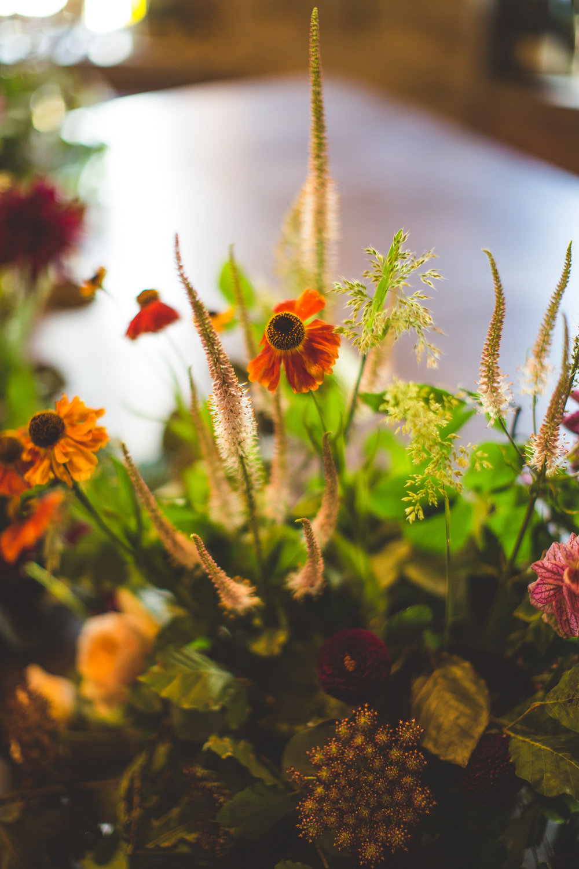 seasonal wedding flowers Yorkshire