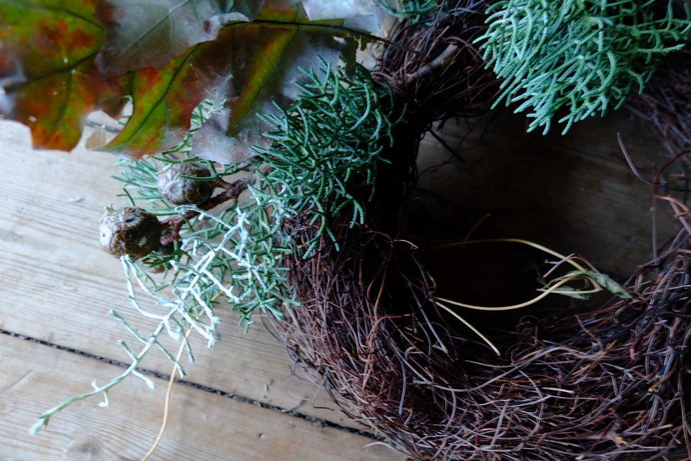 'birds nest' base