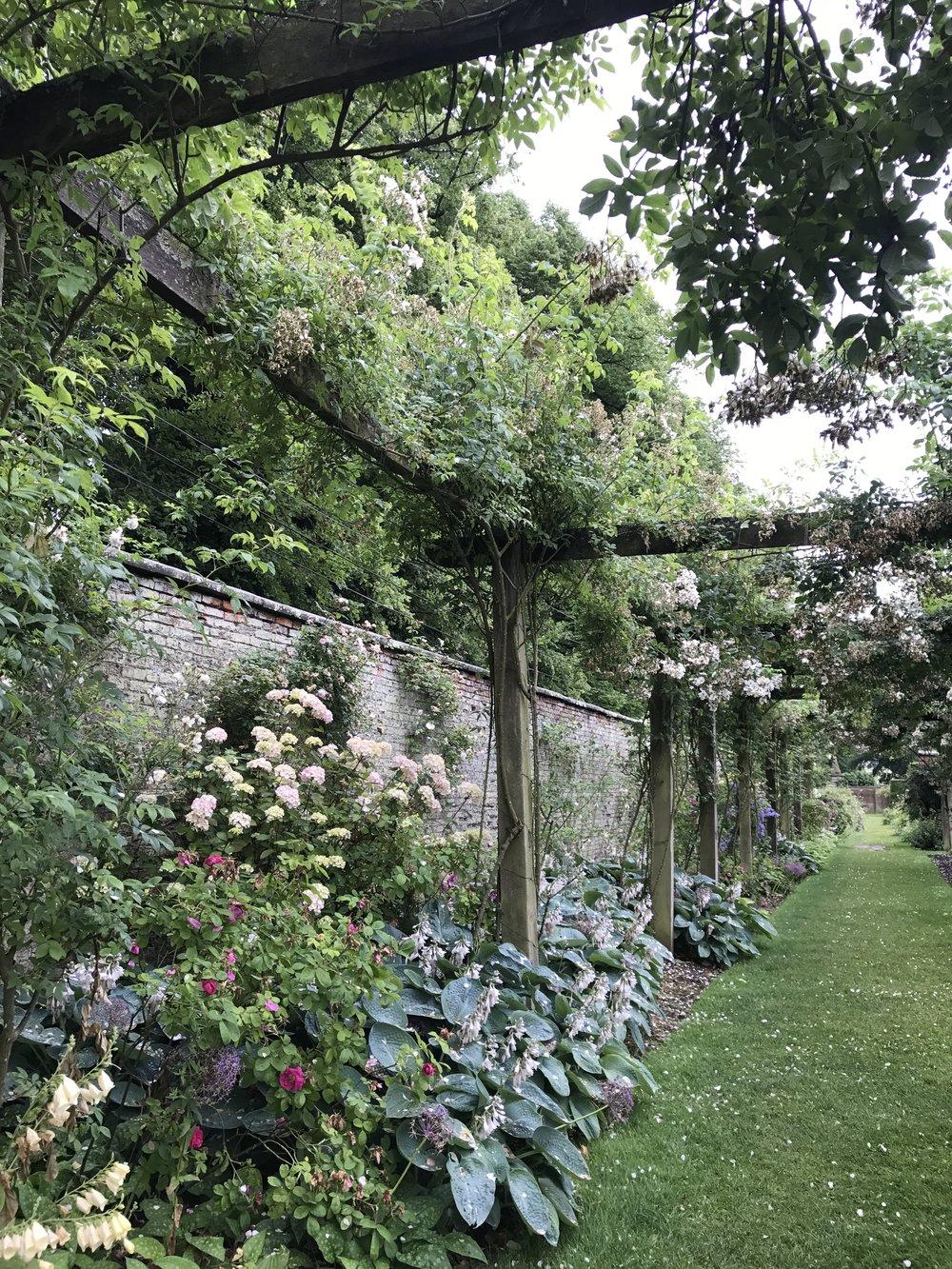 Castle Howard gardens in June