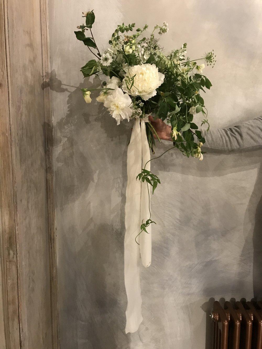 June wedding bouquet