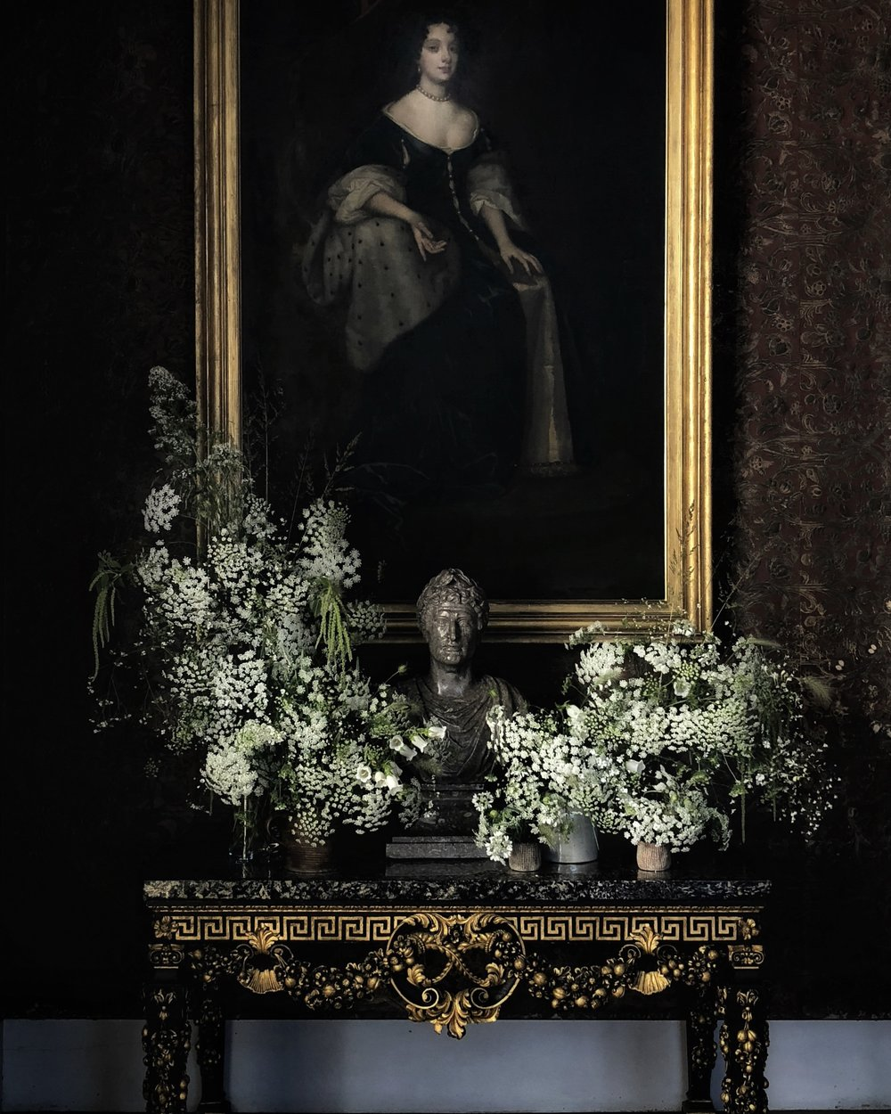Delicate and understated florals at Castle Howard Flower Festival - image Janne Ford