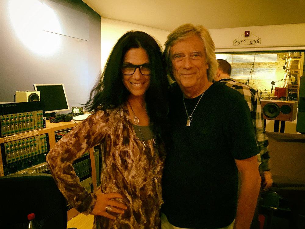 Sari Schorr & Mike Vernon