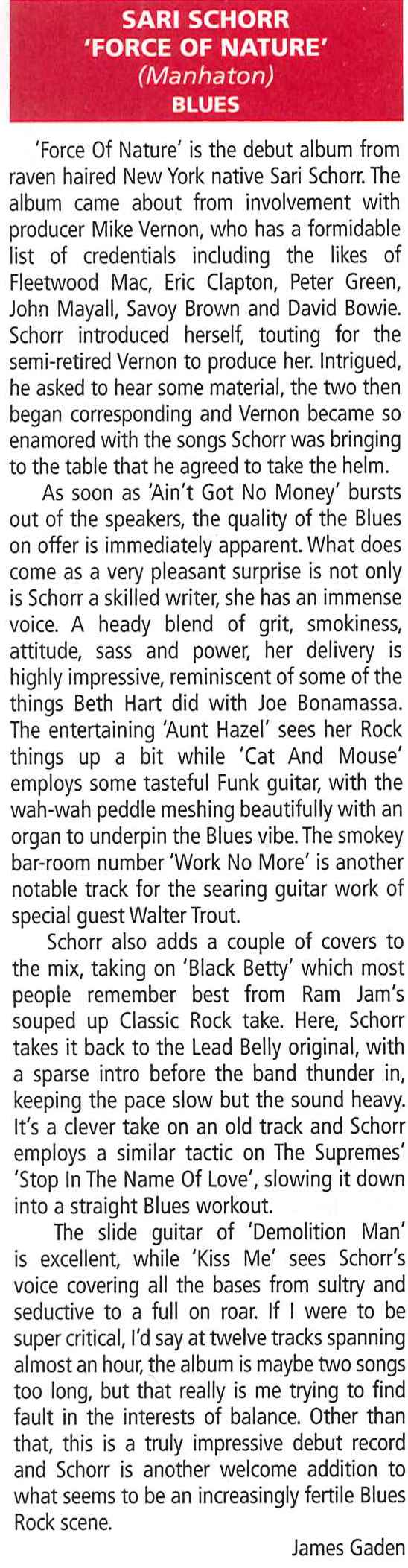 Fireworks Magazine_Oct Dec 2016_Sari Schorr_Album Review_2.jpg