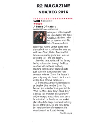 R2 Magazine_Nov Dec 2016_Sari Schorr_Album Review_2.jpeg