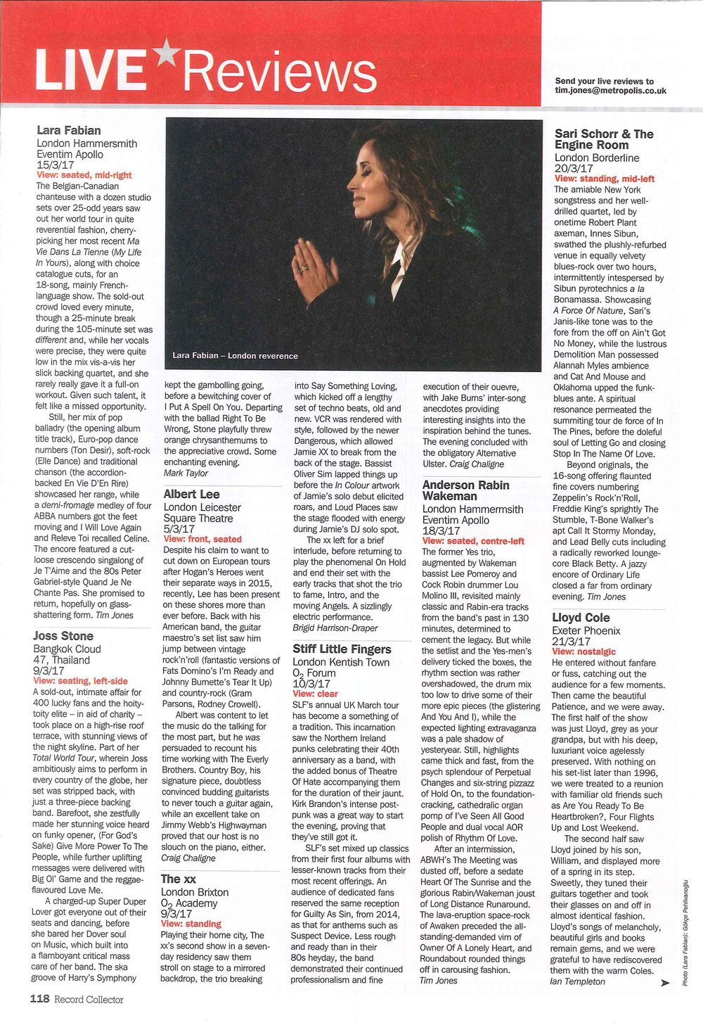 Record Collector_May 2017_Sari Schorr_London Borderline review_2.jpg