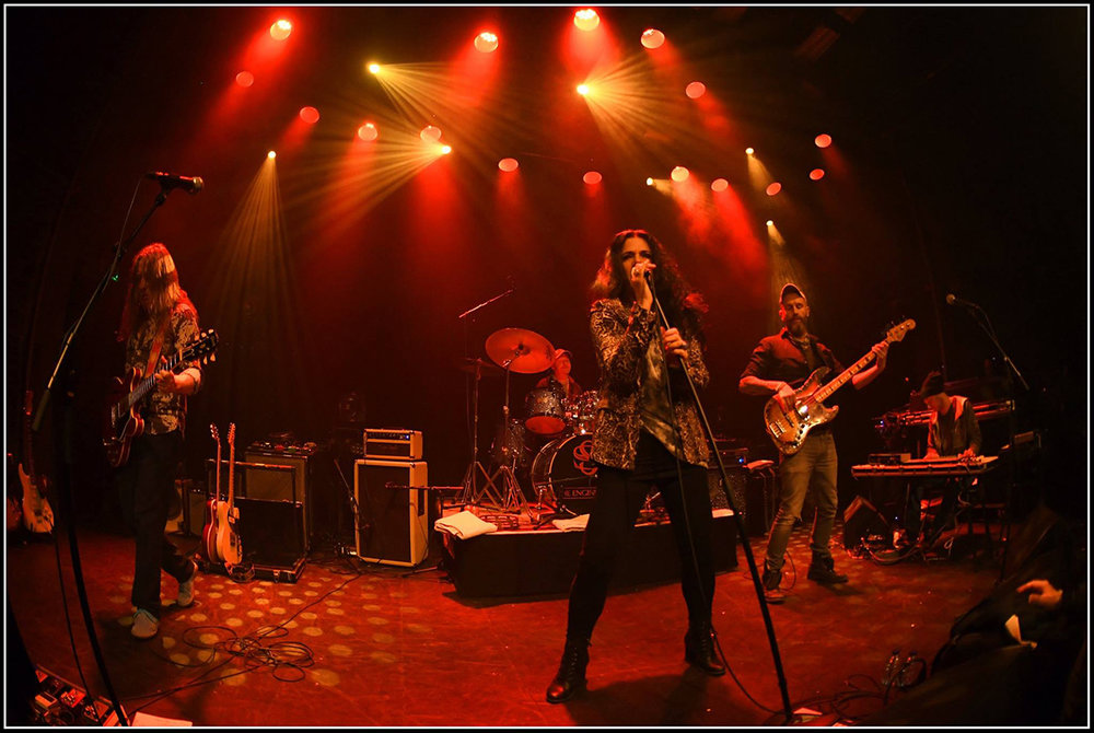 Sari Schorr at De Bosuil. Photo by Alain Broeckx