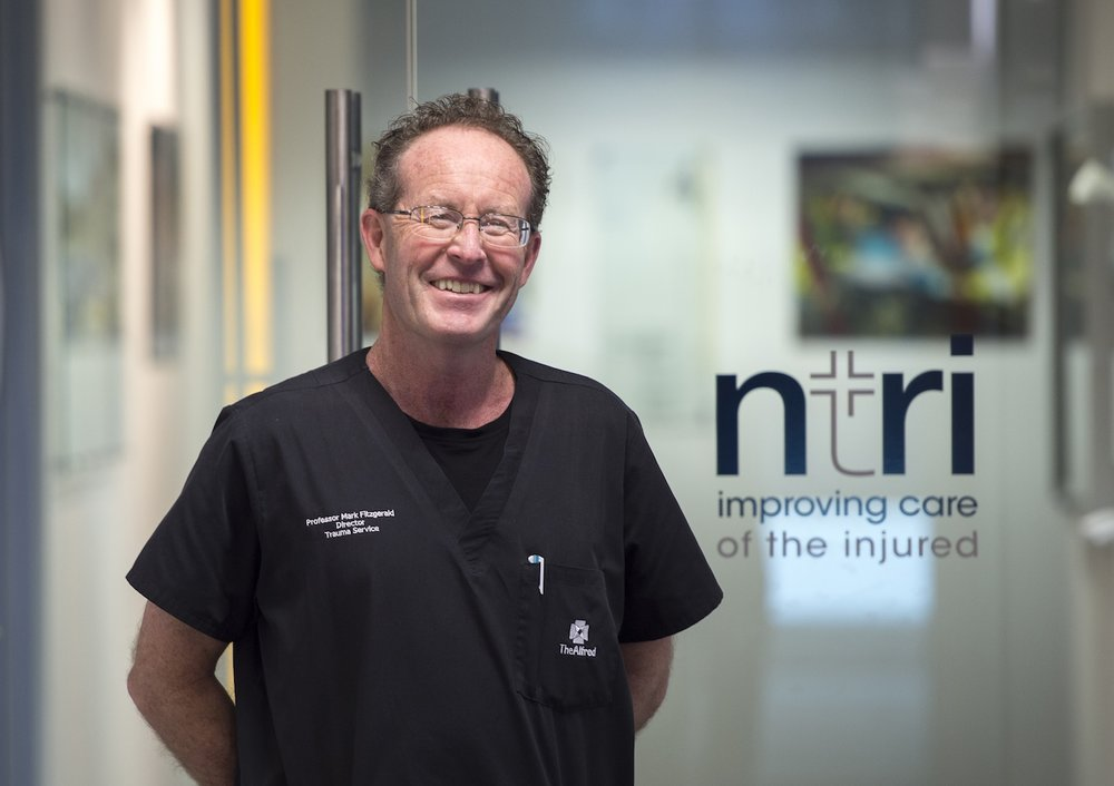 Professor Mark Fitzgerald, Director, National Trauma Research Institute