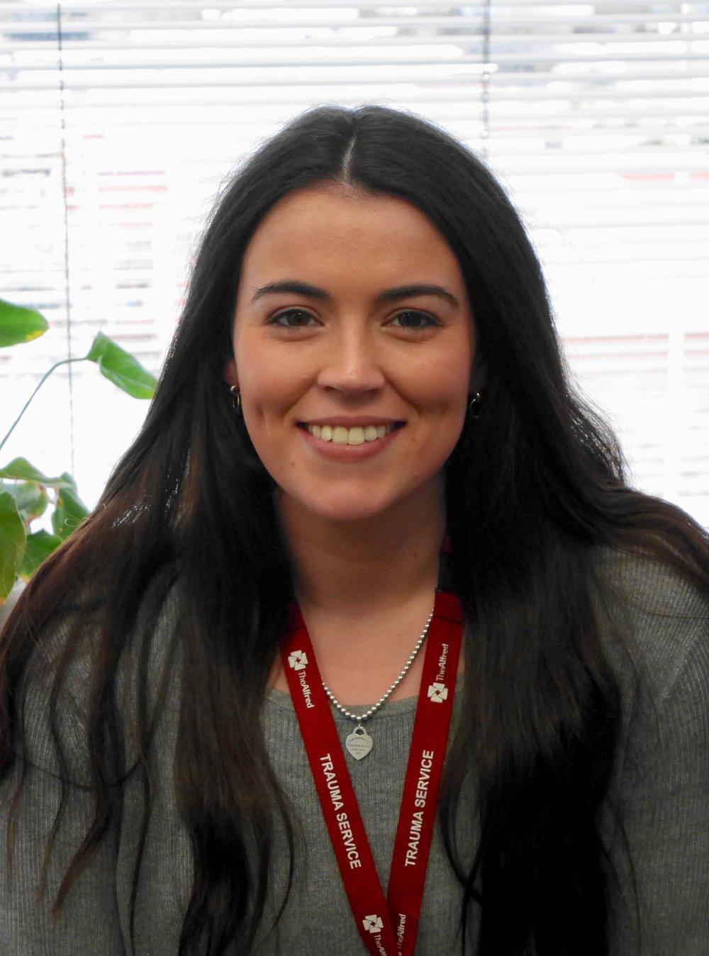 Jessica Bradford - Administrative Assistant (Alfred Trauma Service & NTRI)