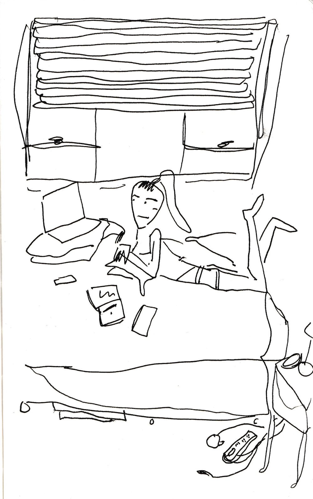 Bed by Isabella Kottek