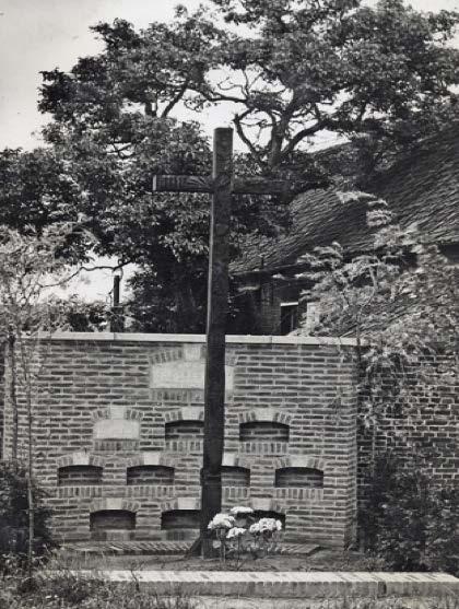 familiegraf 1943 naar aanleiding van het overlijden van de eerste echtgenote van Jozef Schellekens - Maria Vogels