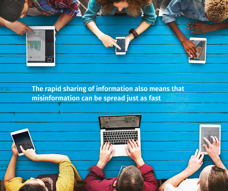 The digital world and information sharing