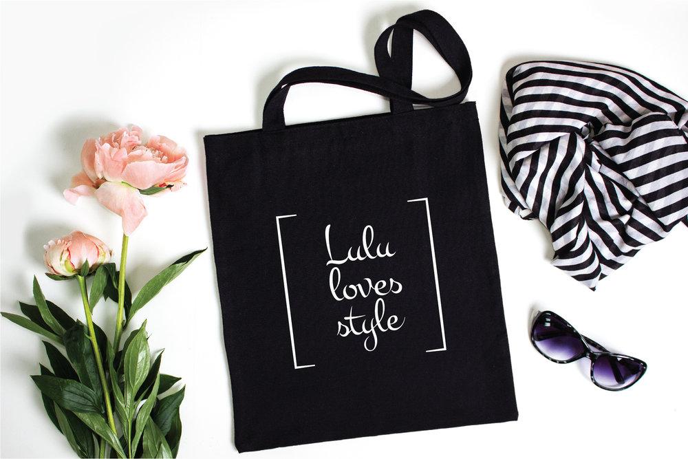 Lulu Loves Style logo design