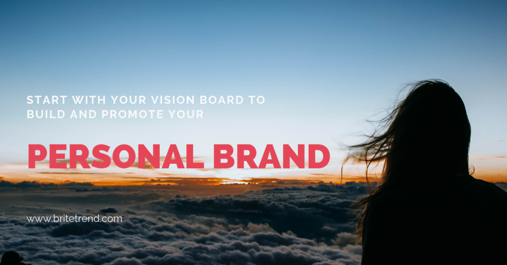 VISION MAPPING AND PERSONAL BRANDING