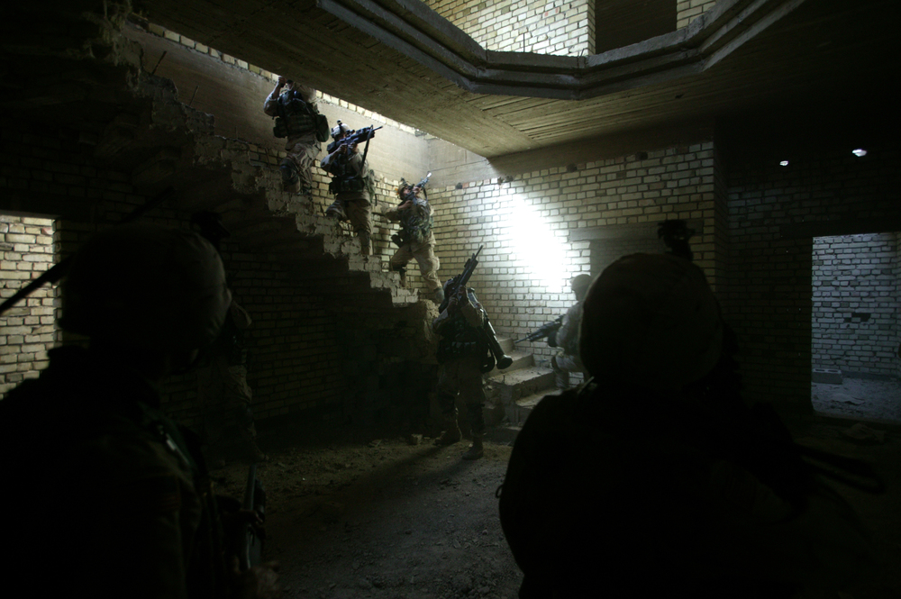 Only The Dead 13 - Credit Yuri Kosyrev _ Noor Images_U.S. Troops entering a house in Fallujah.jpg