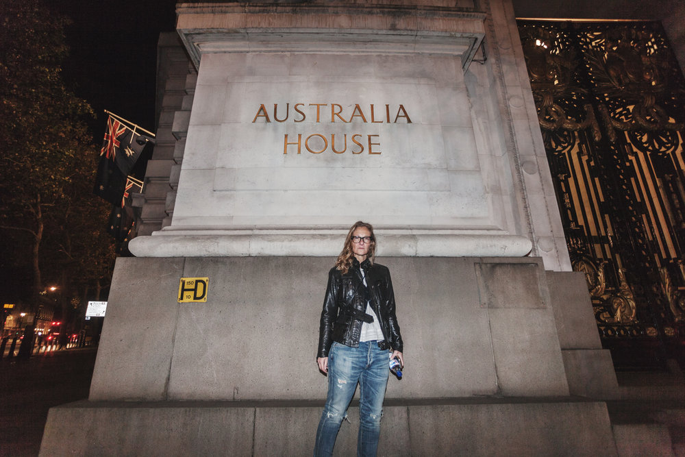 Director Eva Orner at Australia House (photo christopher bethell / vice)