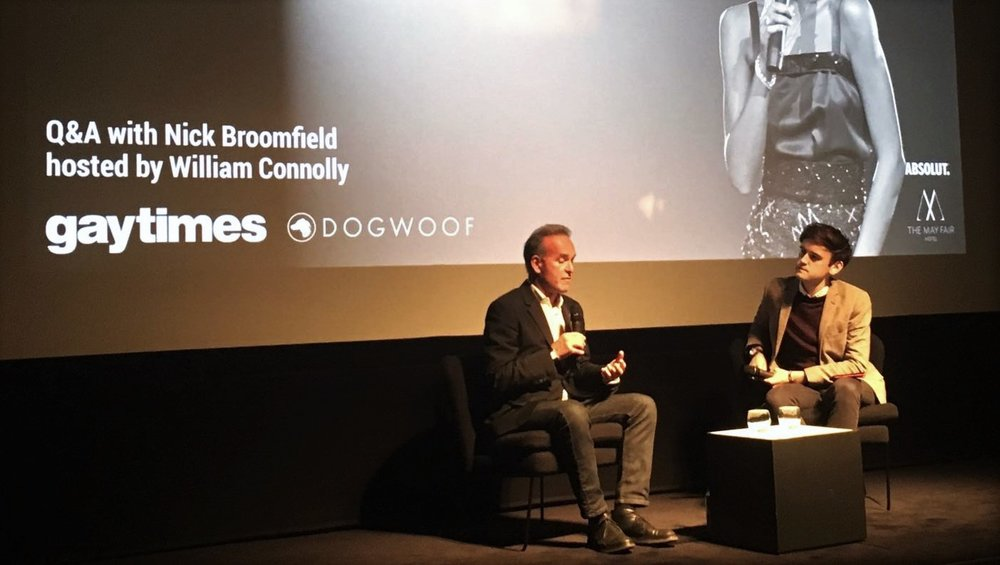 Nick Broomfield - Gay Times Q&A -WHITNEY 'Can I Be Me' - Dogwoof Documentary
