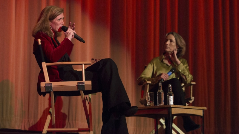 Samantha Power in conversation with Francine Stock