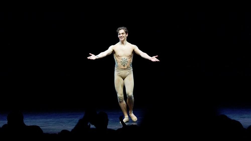 Pictured: Sergei Polunin at the Dancer premiere