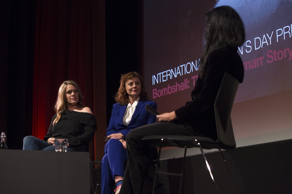 Alexandra Dean, Director, with Susan Sarandon, Executive Producer