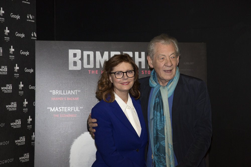 Susan Sarandon and Sir Ian McKellen
