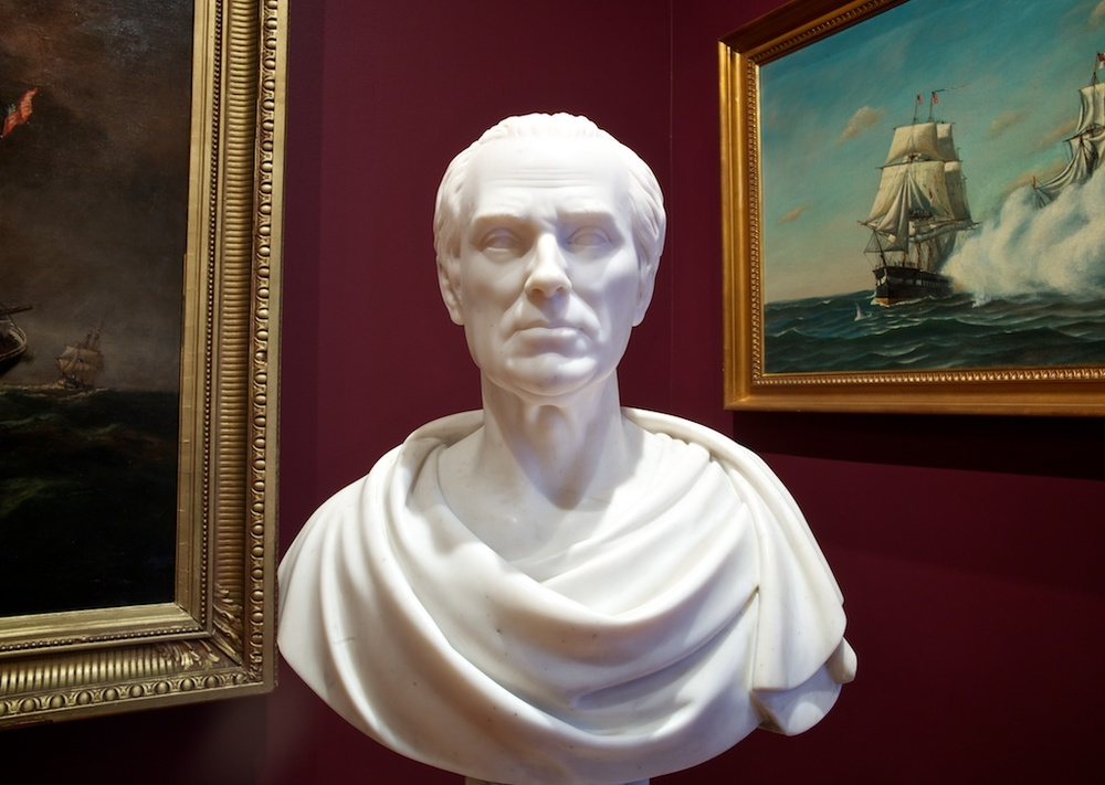 Bust of Robert Richard Randall