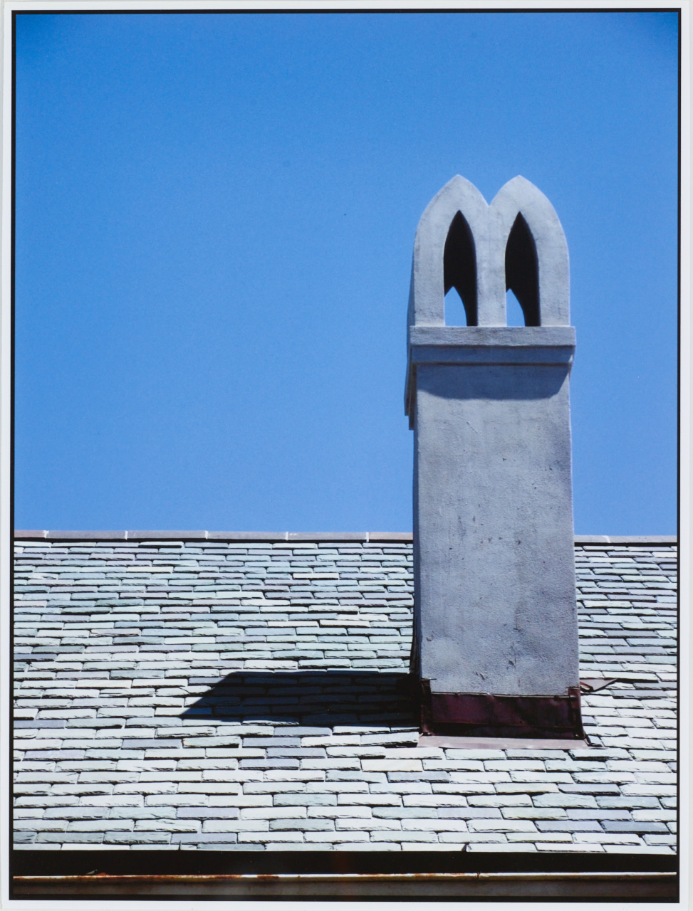 """17. Eric Holmes (1960-2014), """"Rooftop, New Orleans, 2"""""""