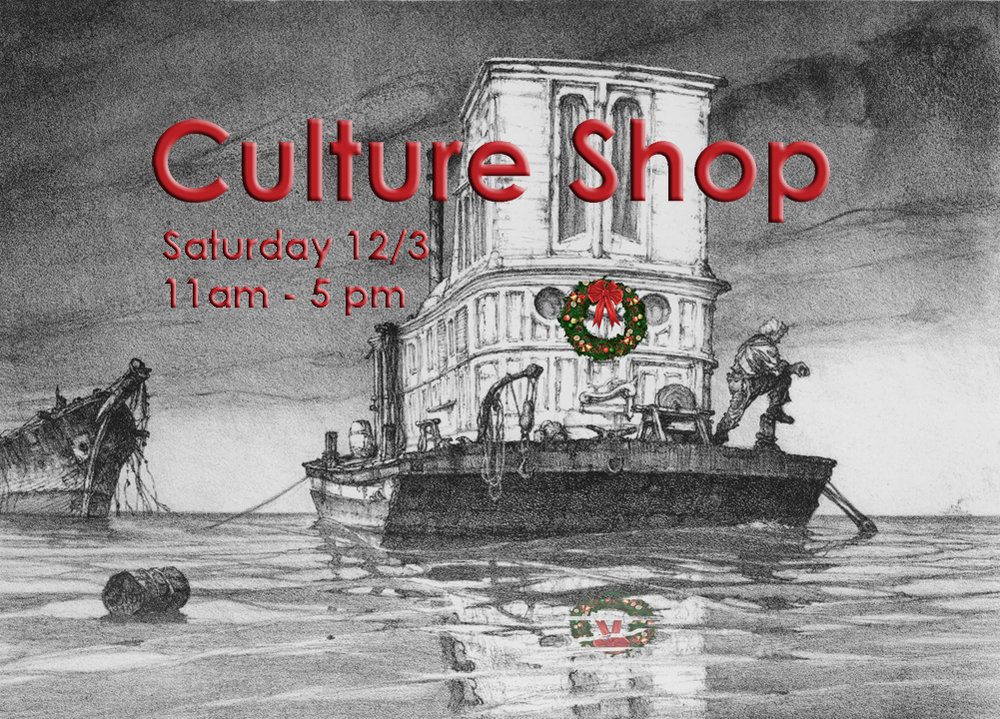 Culture Shop, the museum's annual holiday market, is on Saturday, December 3, from 11 AM to 5 PM