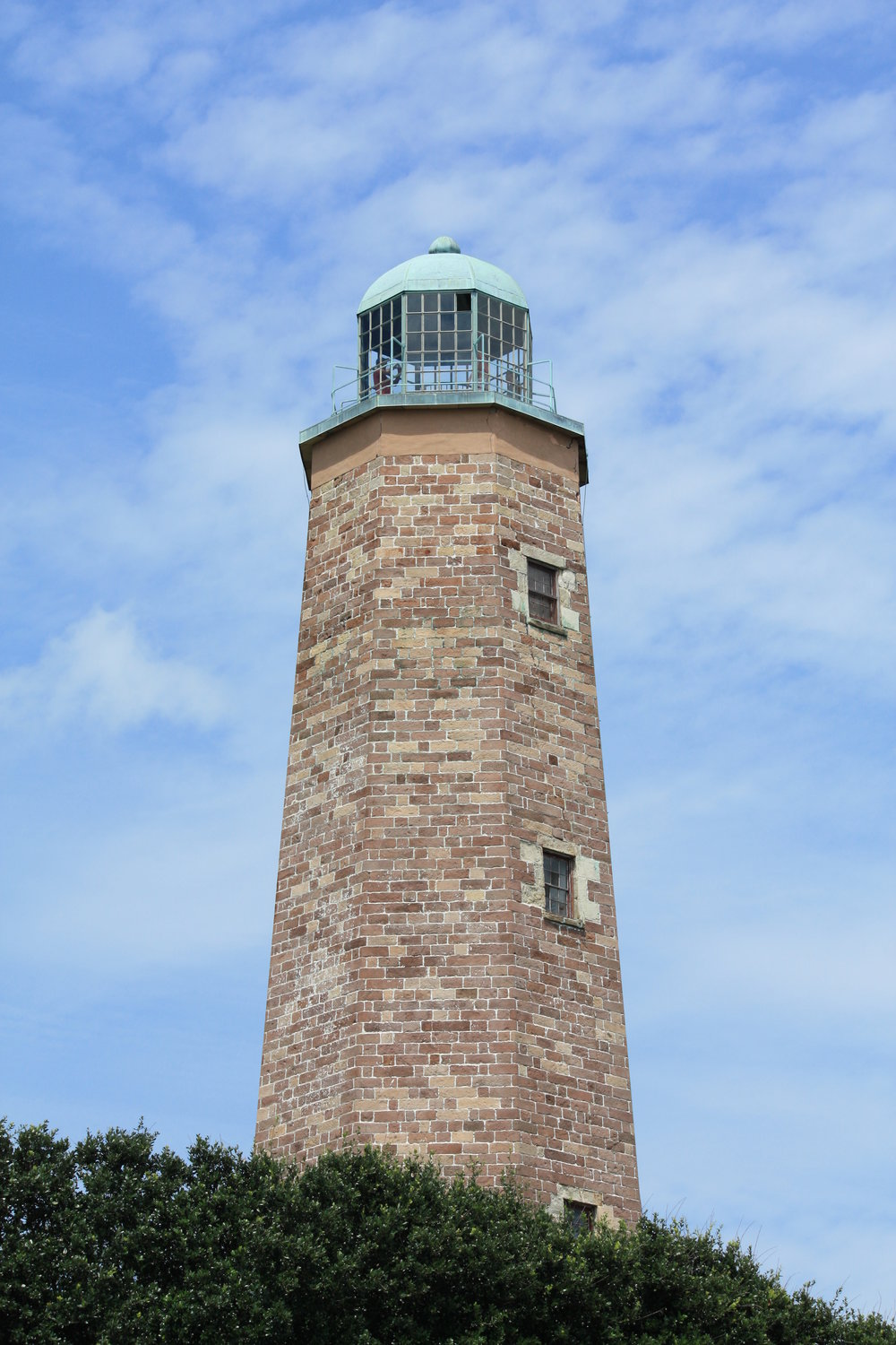 The 1792 Cape Henry Lighthouse at Fort Story in Virginia Beach, VA. PHOTO: Wikimedia Commons