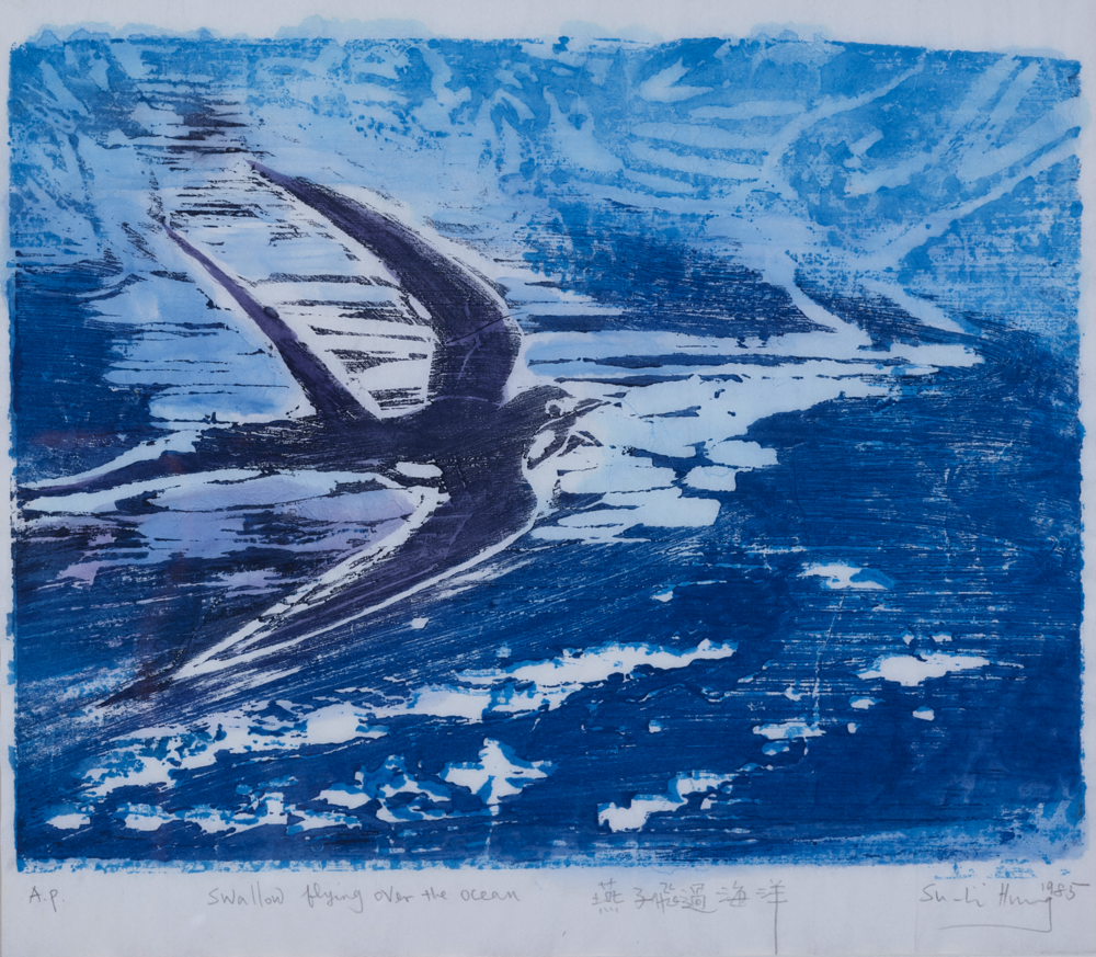 "30. Su-Li Hung, ""Swallow flying over the ocean"""