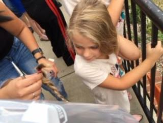 Donating hair to Locks of Love!