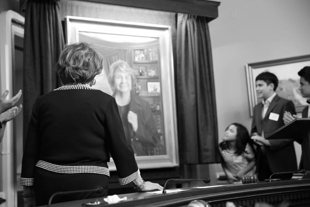 Rep. Louise Slaughter Portrait Unveiling