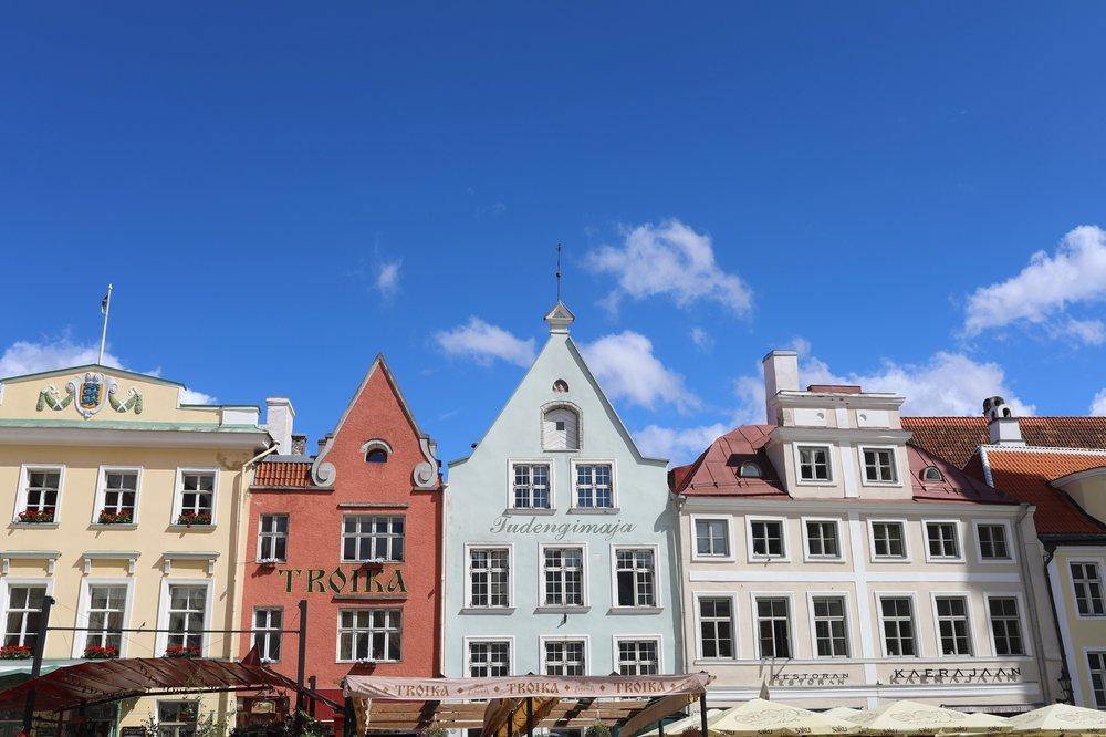 Raekoja plats, Tallinn, Estonia  Canon 5d Mark IV