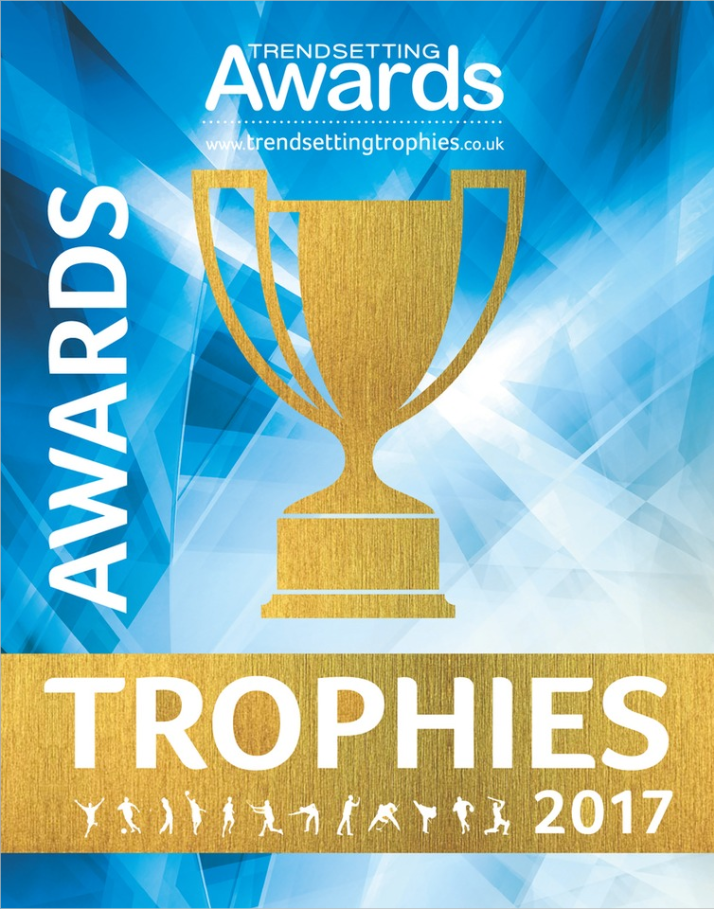 Awards & Trophy Catalogue View this magnificent 382 page Sports Brochure, you will be sure to find an award for any sporting occasion. This brochure offers a wide range of Trophies and Awards all designed with fantastic definition and detail making your Trophies stand out from the crowd.